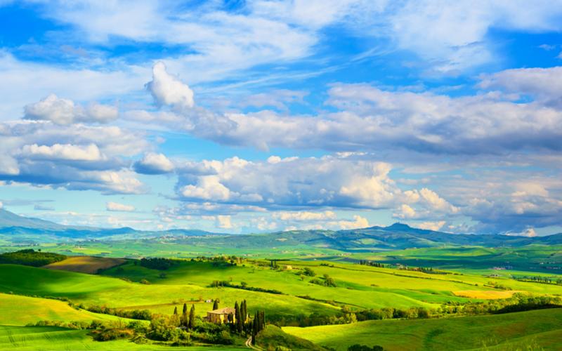 Região Toscana, na Itália, um dos melhores destinos e um dos mais românticos