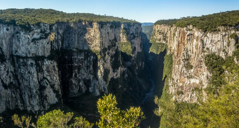 Aparados da Serra em Rio Grande do Sul, um dos melhores destinos de aventura