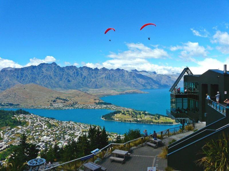 Queenstown na Nova Zelândia, um dos melhores destinos de aventura