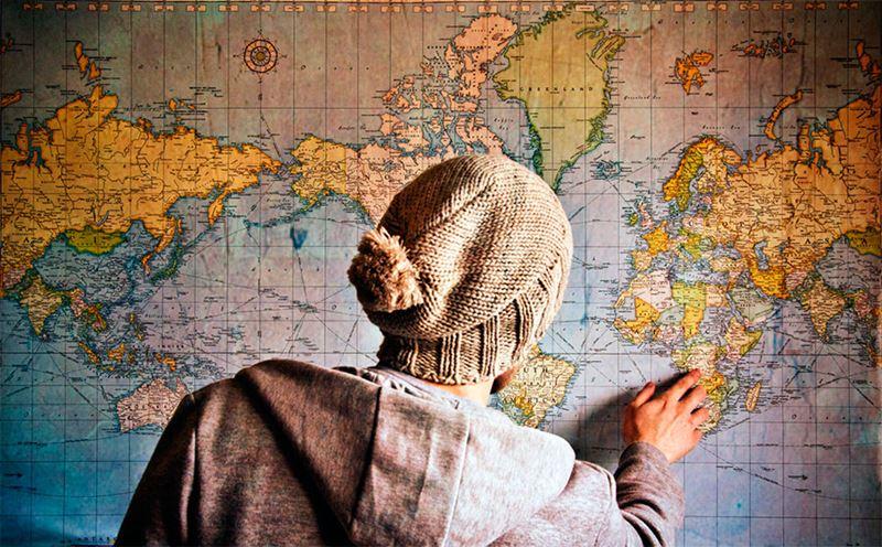 Viajando com a família, planejamento de lugar com atividades