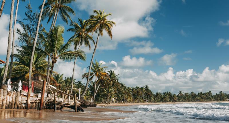 Península de Marau, um dos melhores lugares para viajar em Março