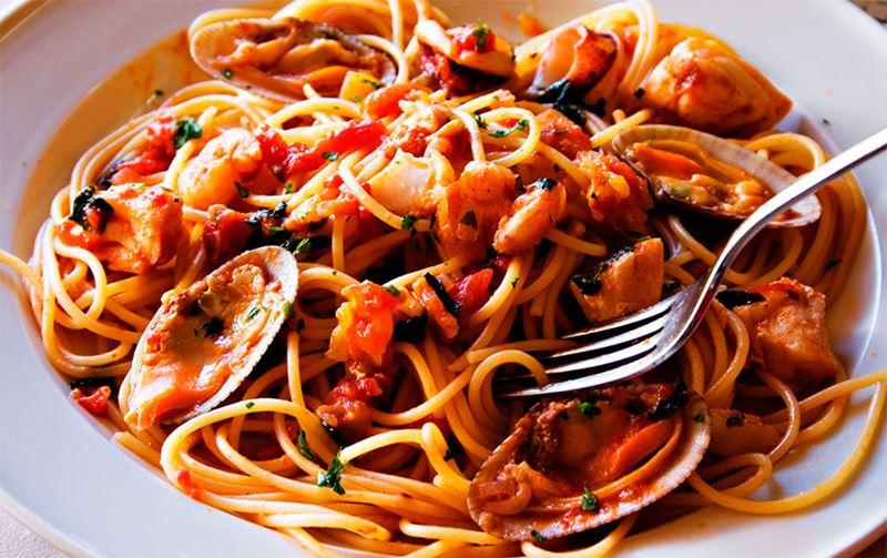 Comida Italiana, um dos pratos gourmet
