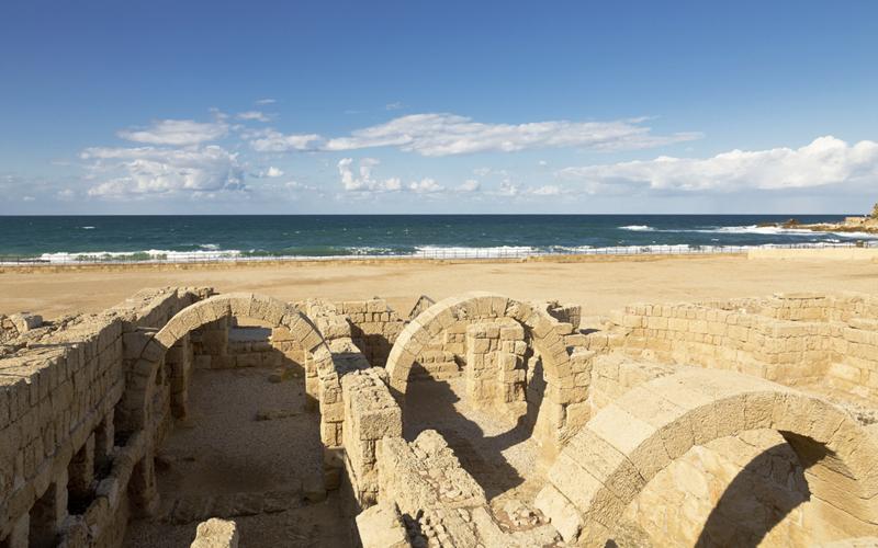 Cesarea Israel, um dos lugares mais bonitos do Oriente Médio