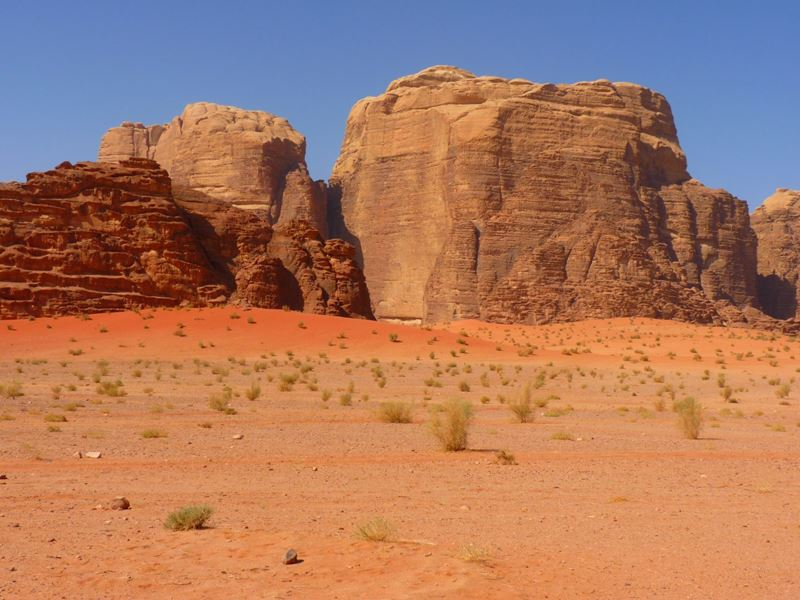 Deserto Wadi Rum Jordânia, um dos lugares mais bonitos do Oriente Médio