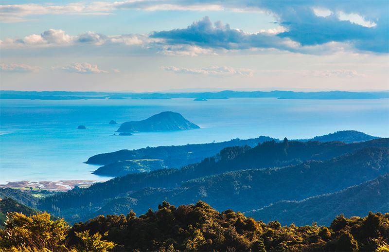 Coromandel na Nova Zelândia, um dos melhores lugares para viajar em Janeiro