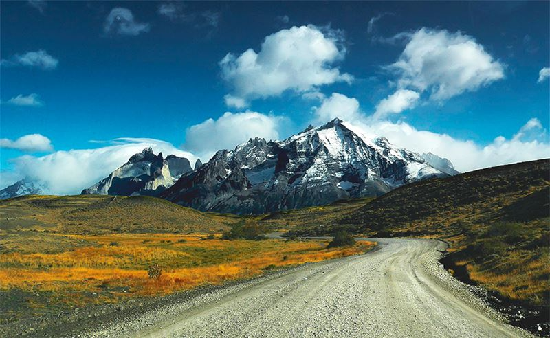 As montanhas da Patagônia Chilena, um dos melhores lugares para viajar em dezembro