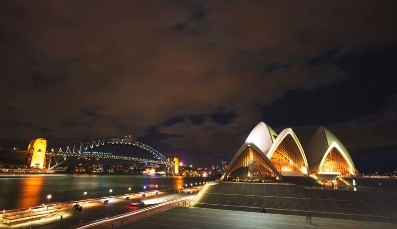 Opera House, em Sydney, um dos ótimos lugares para visitar em janeiro