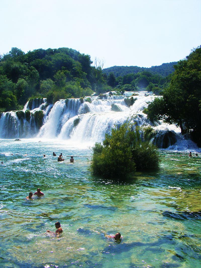 Krka National Park, as maravilhosas cachoeiras deste lugar na Croácia