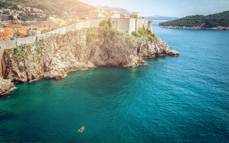 Cicloturismo pela Costa Dalmácia na Croácia