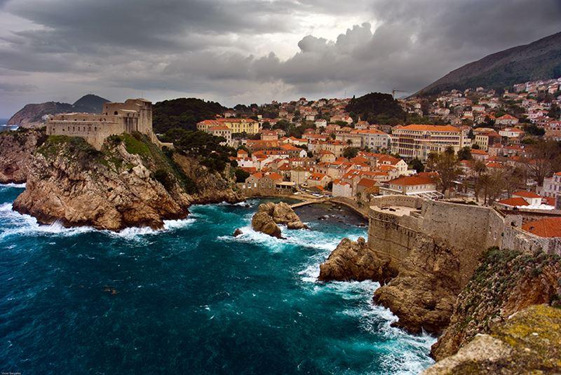 Fortalezas de Lovrijenac e Bokar Dubrovnik, na Croácia