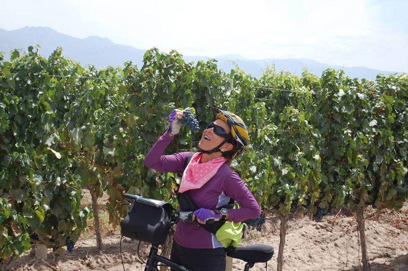 Conhecendo o espetacular Parque General San Martin na Argentina de Bike