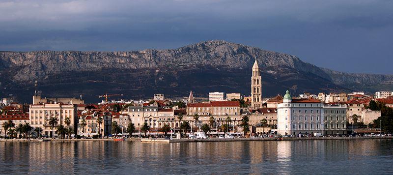 Split na Croácia
