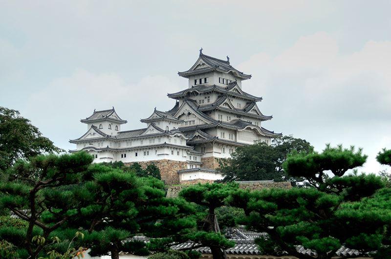 O famoso Castelo de Himeji