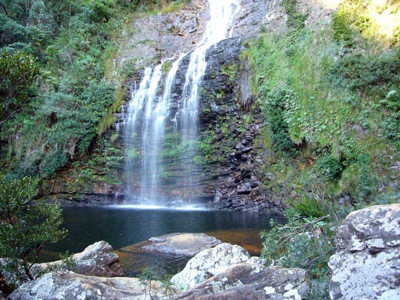 Cachoeira da Farofa em Minas Gerais