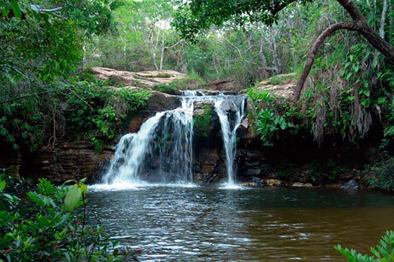 Cachoeira do Pulo, na Chapada dos Guimarães