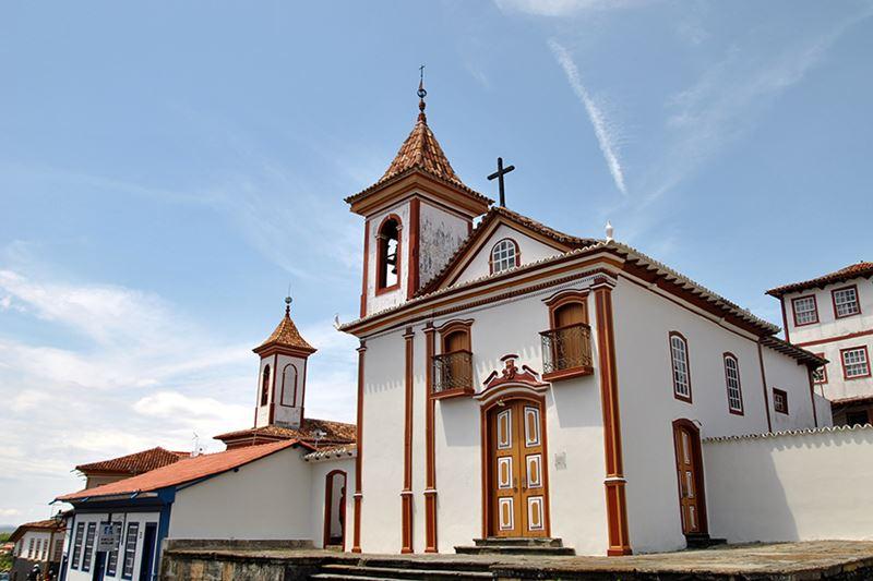 Centro Histórico de diamantina em Minas Gerais