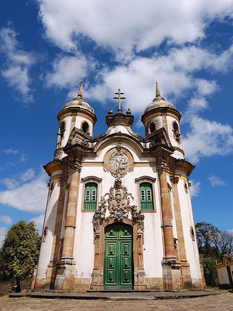 Igreja de São Francisco de Assis em Minas Gerais