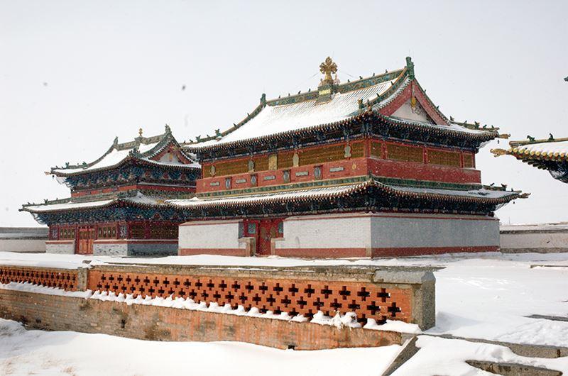 Erdene Zuu, uma das principais cidades da Mongólia
