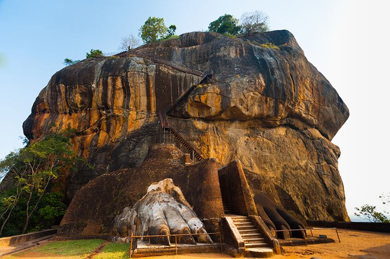 Os maravilhosos Jardins de Lion Rock, no Sri Lanka