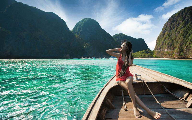 Maya Bay, uma das melhores praias da Tailândia