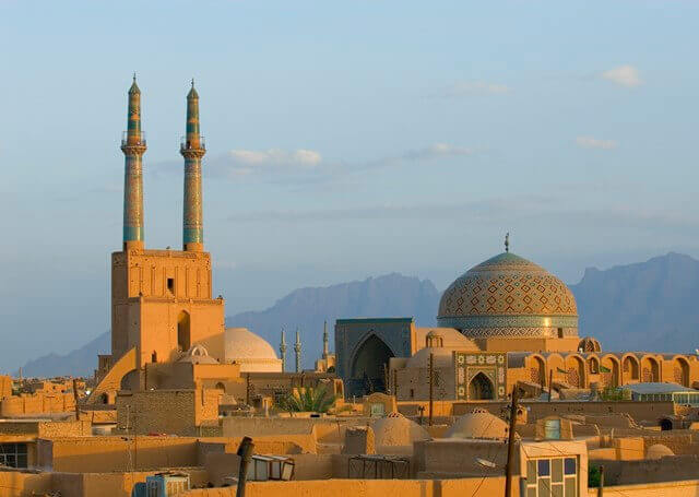 sunset-over-ancient-city-of-yazd-iran