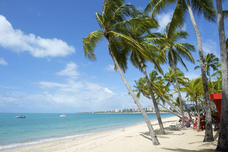 Maceió, Alagoas, um dos lugares onde a tocha olímpica
