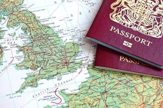 passaporte vermelho