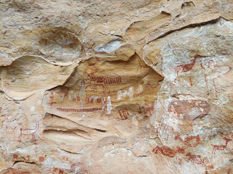 Pintura Rupestre Boqueirão da Pedra Furada
