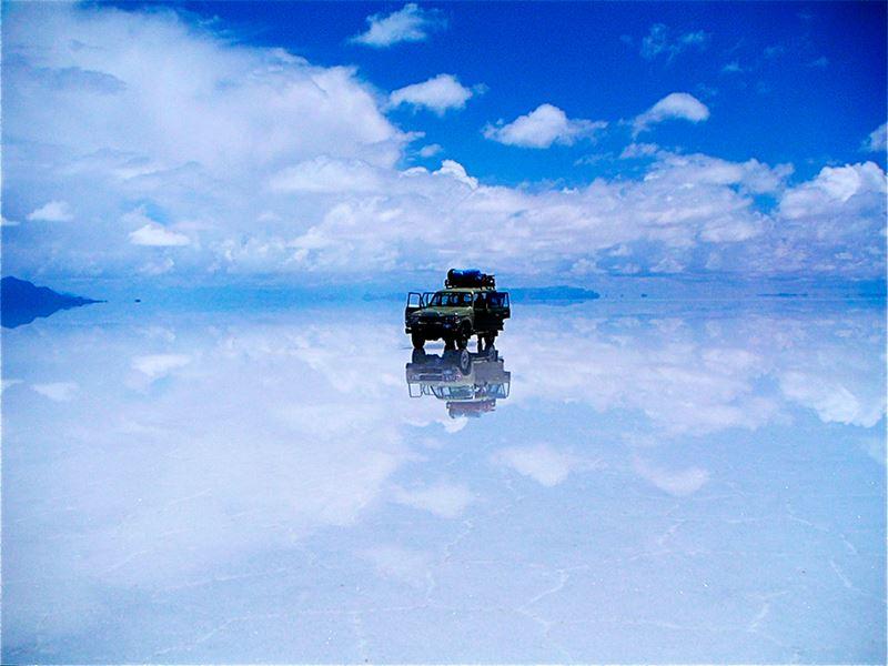 Salar de Uyuni, o maior deserto de sal do mundo