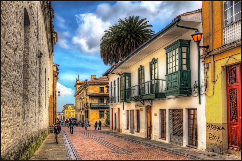 La Candelaria, um dos pontos turísticos da Colômbia