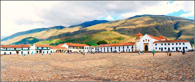 A Villa de Leyva, uma das cidades histórias da Colômbia