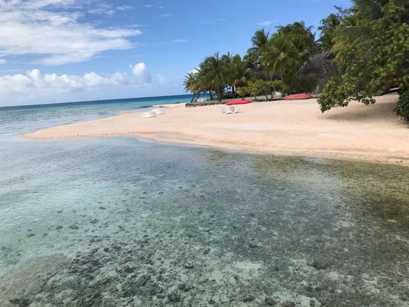 Atol de Tikehau e suas praias, Tahiti