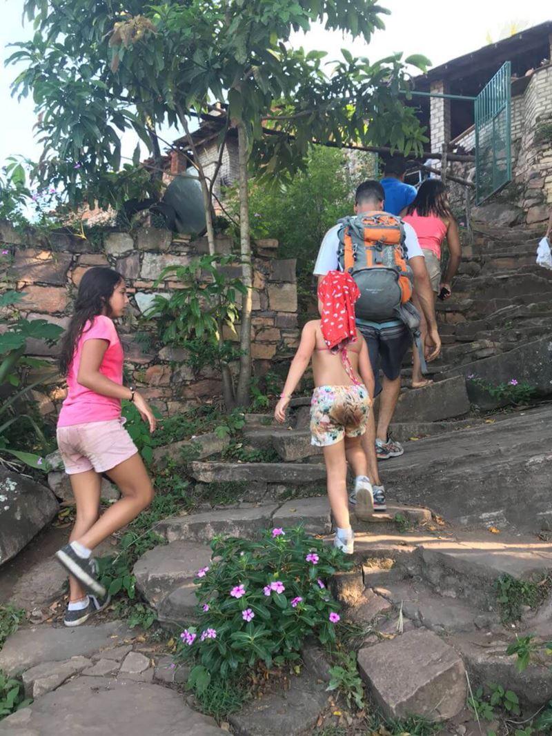 Aventura pela Chapada Diamantina, na Bahia em família
