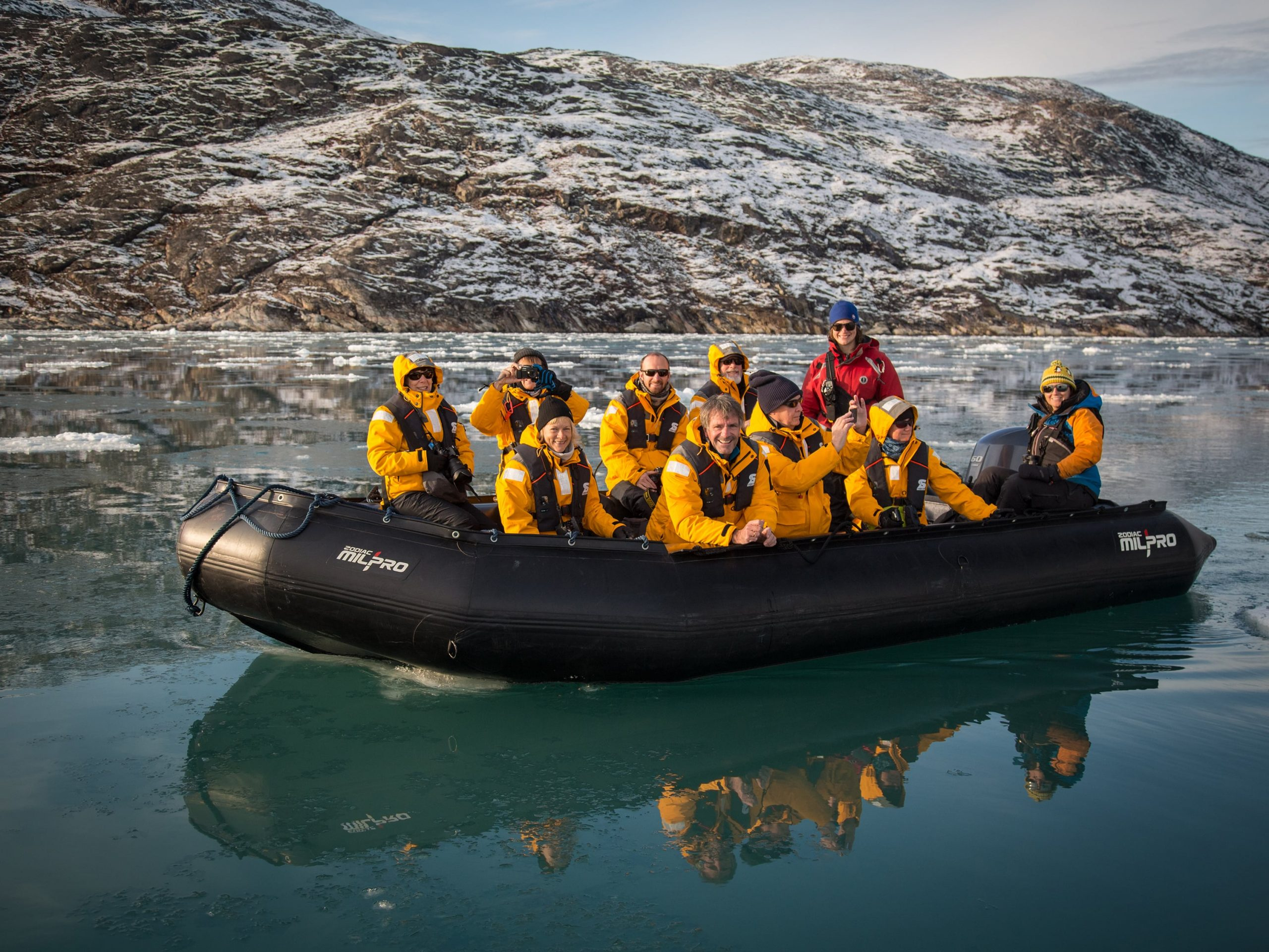 quark-expeditions_greenland-adventure_francoise_gervais_zodiac_eqip_sermia_west_greenland_credit_acaciajohnson-1-min