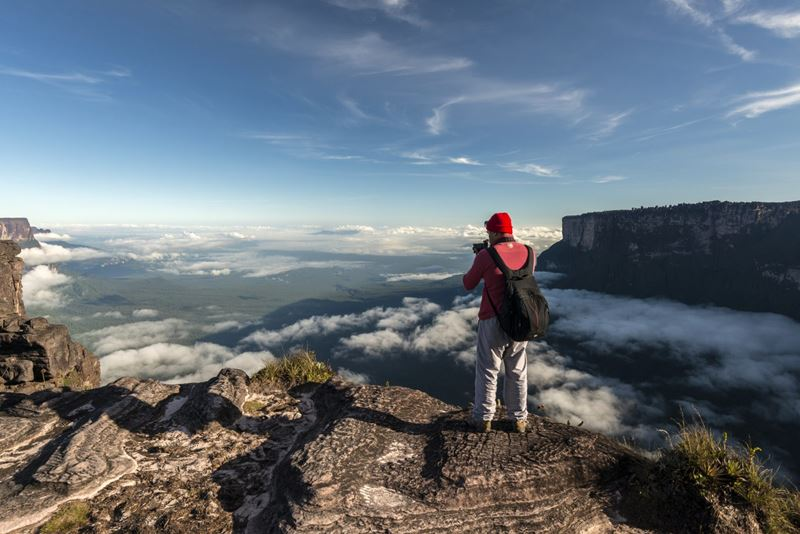 Monte Roraima, um dos lugares para visitar mais inusitados do Brasil