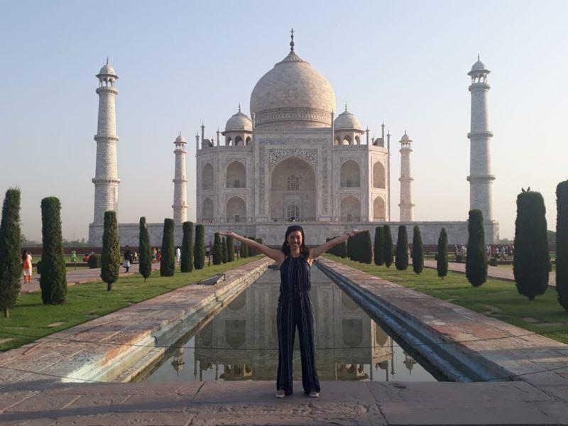A apaixonante Índia com Mariana Andrade