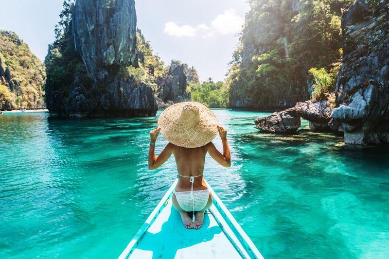Palawan nas Filipinas, uma das magnificas ilhas para comemorar a lua de mel
