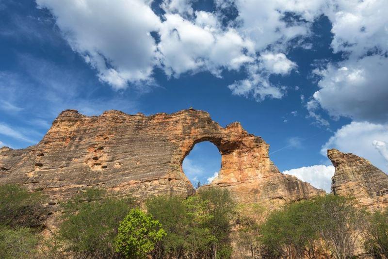 Trilha Hombu, Pedra Furada, conhecendo a Serra da Capivara