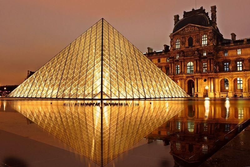 Tour Virtual pelo Louvre, em Paris
