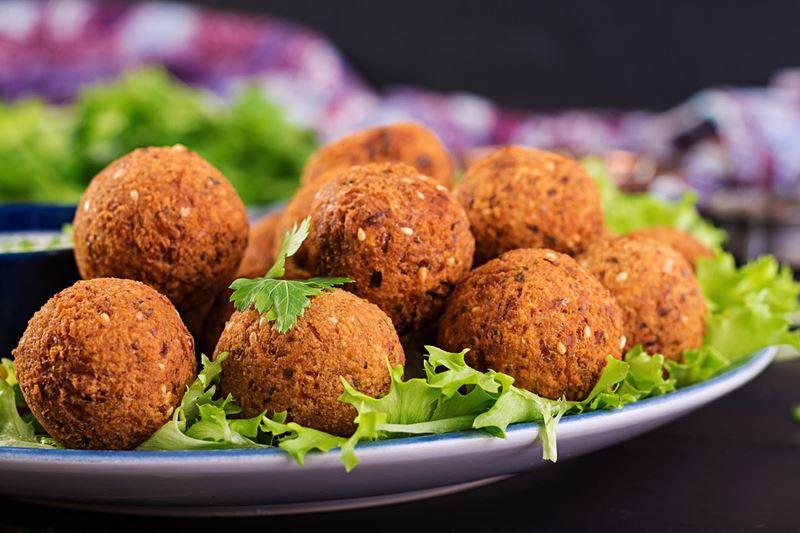 Falafel, gastronomia do Oriente Médio