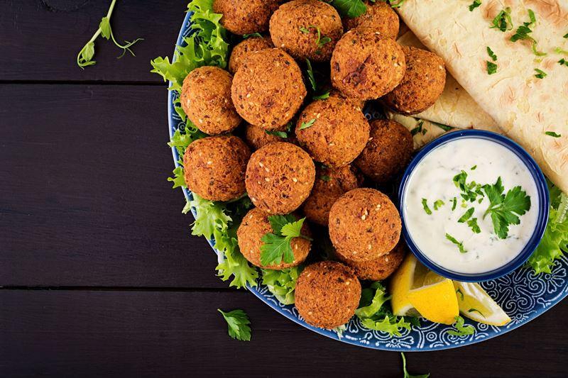 Gastronomia do Oriente Médio, benefícios do grão-de-bico