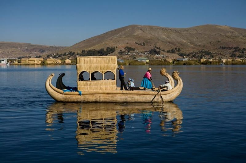 O lago navegável mais alto, uma das 5 grandezas naturais ao redor do mundo