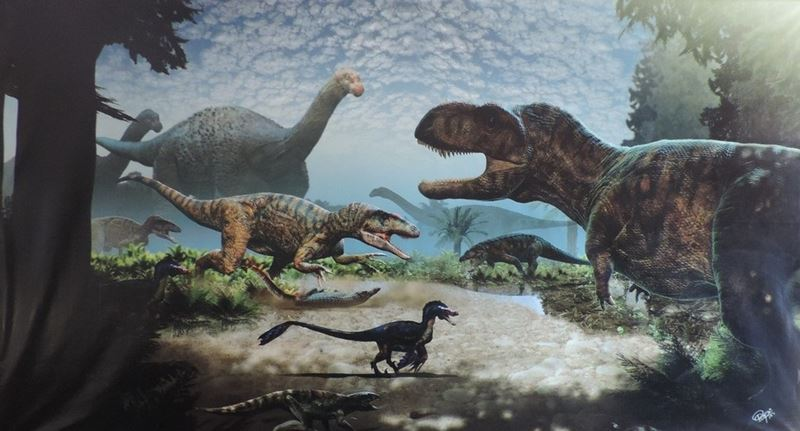 Cidade de Uchoa, museu que reúne fósseis de dinossauros