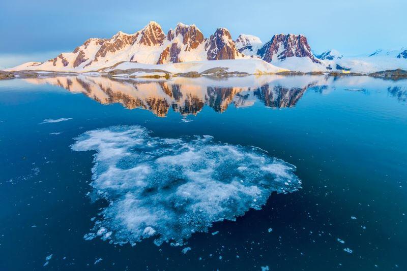 Cruzeiro na Antártica, conhecendo o elemento Água