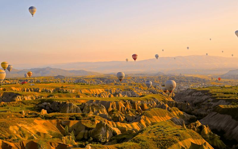 Istambul e Capadócia, uma das viagens com o Elemento da Natureza, Ar