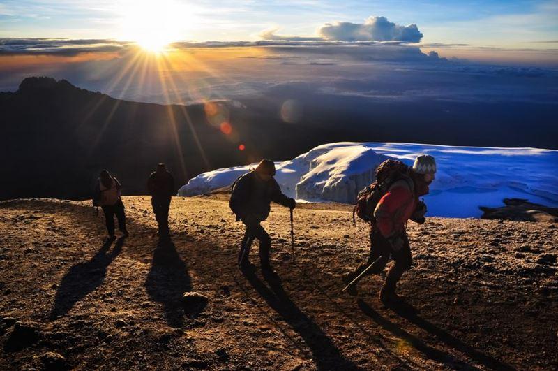 Trekking Kilimanjaro, Tanzânia, um dos roteiros com o Elemento da Natureza, Fogo