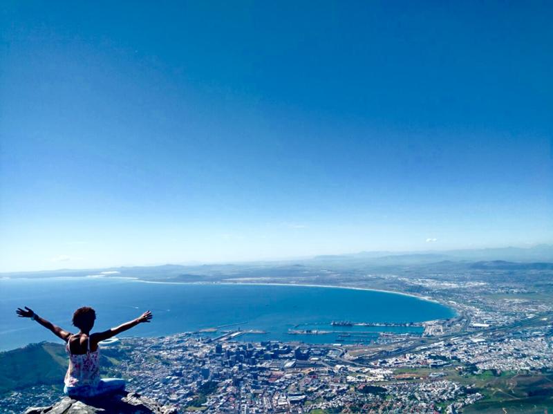 Cape Town, um dos lugares onde a consultora de viagens da Adventure Club Estela Rodrigues conheceu