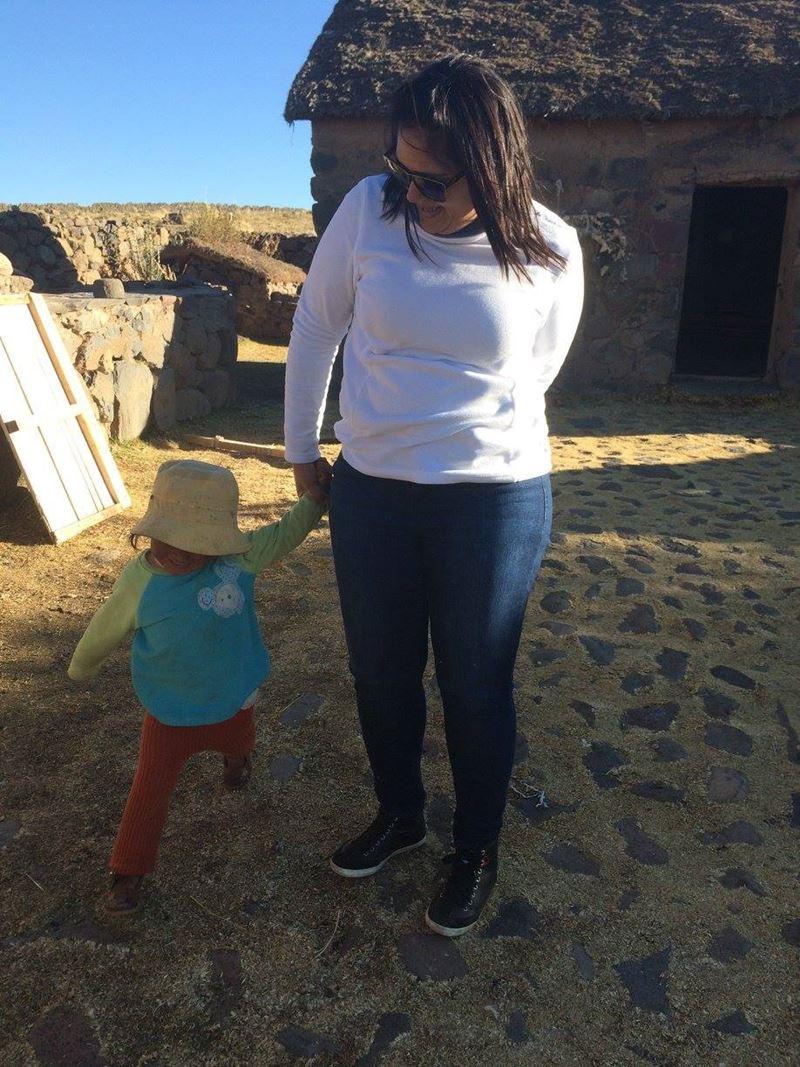 Comunidade de Uros e Taquiles no Lago Titicaca, um dos lugares visitados por Thalita Pereira, a consultora de produtos internacionais da Adventure Club