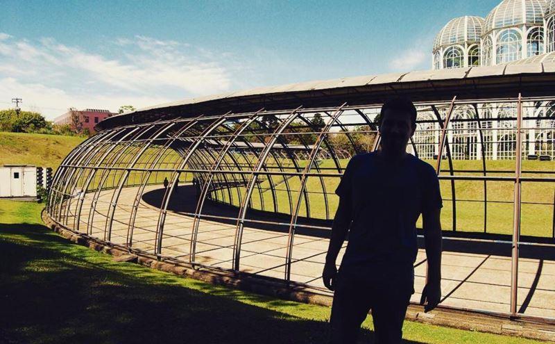 Jardim Botânico em Curitiba, uma das experiências com o especialista em Inbound Marketing da Adventure Club, Ronaldo Peranovich