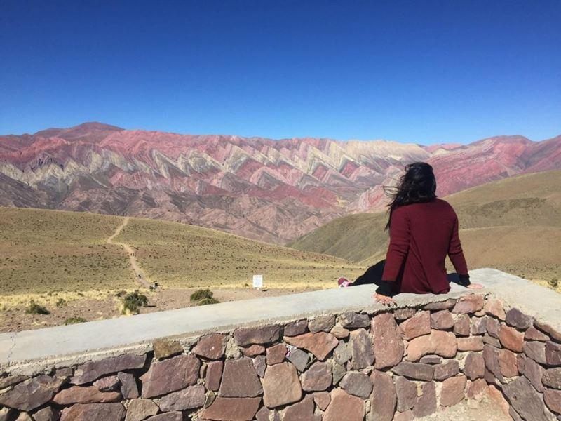 Jujuy, uma das experiências feitas pela Coordenadora de Atendimento e Vendas da Adventure Club, Amanda Gallo